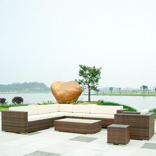 Outdoor Wicker Sofa - Spectra