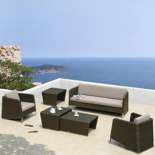 Outdoor Wicker Sofa - Veneto