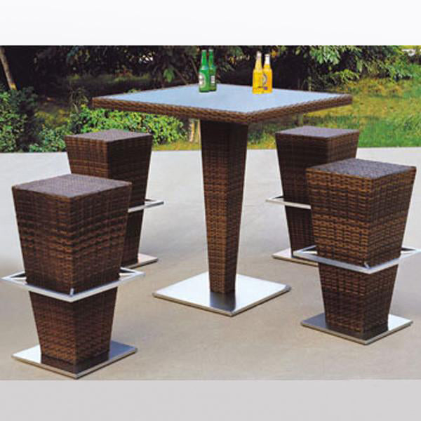 Outdoor Wicker Bar Set - Highland