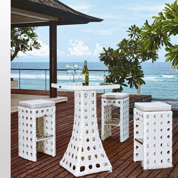 Outdoor Wicker Bar Set - Scottish
