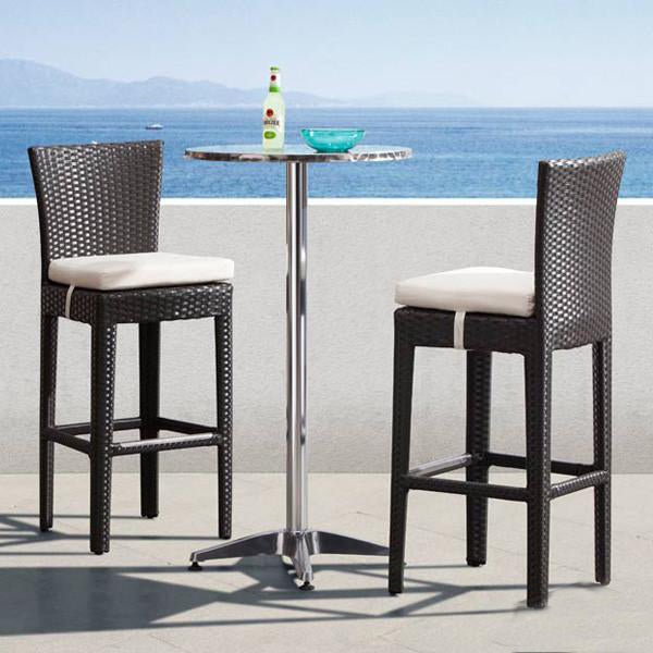 Outdoor Wicker - Bar Set Style