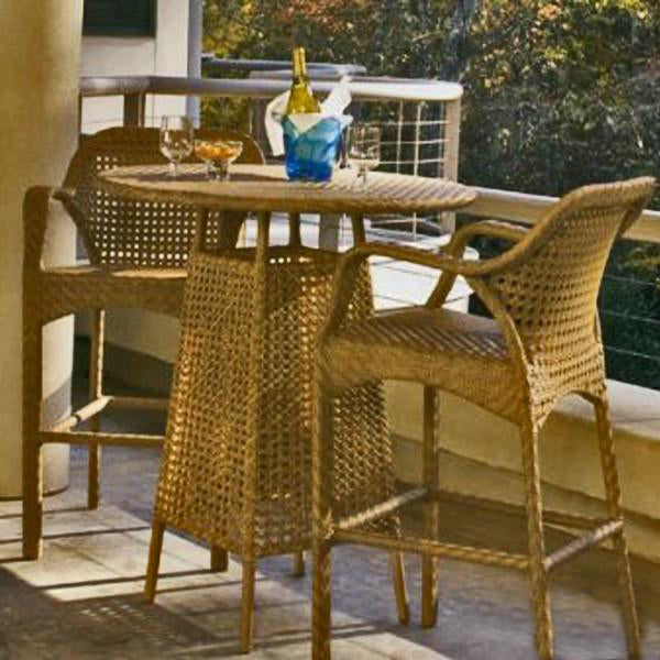 Outdoor Wicker Bar Set - Countryside