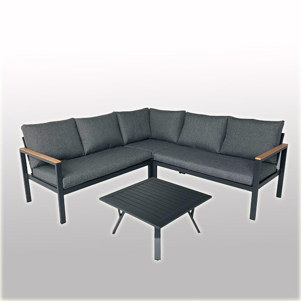 Outdoor Wood & Aluminium - Sofa Set - Willow