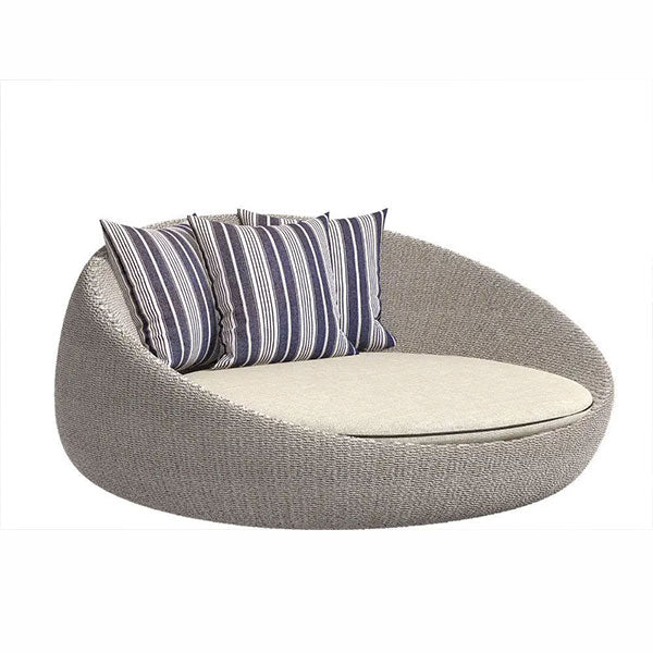 Outdoor Wicker Day Bed - Asian