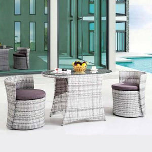 Outdoor Furniture - Compact Chair-Table Set - Passion