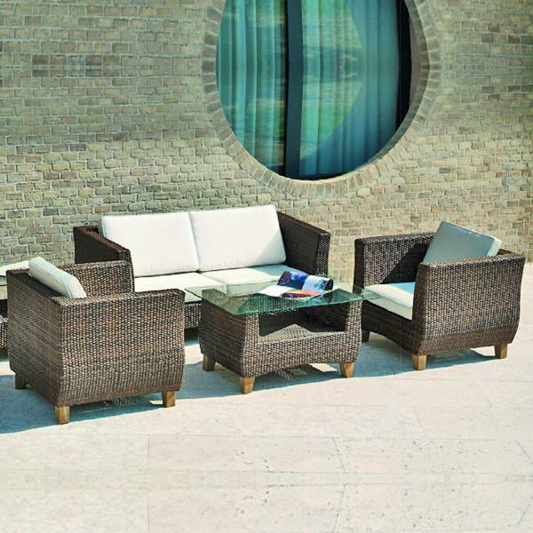 Outdoor Furniture - Wicker Sofa - Tulip