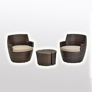Outdoor Wicker - Stackable Set - Orient