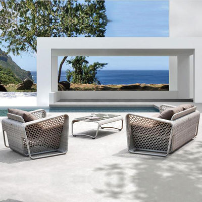 Outdoor Wicker Sofa - Broadway