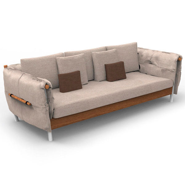 Fully Upholstered Outdoor Furniture - Sofa Set - Canne