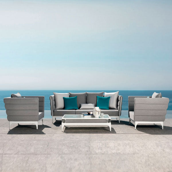 Fully Upholstered Outdoor Furniture - Sofa Set - Cloud
