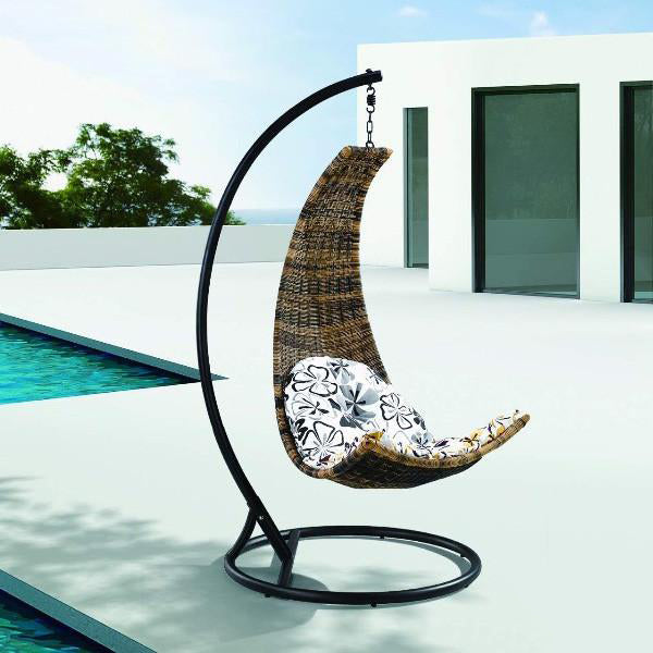 Outdoor Wicker Swing - Breeze