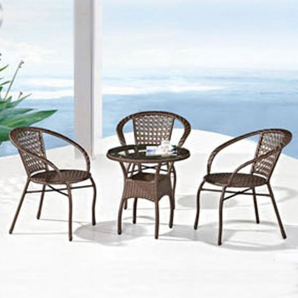 Wicker Garden Set - Ecolite Omega