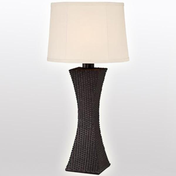 Outdoor Wicker Lamp - Brighten