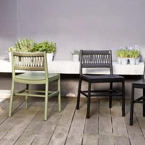 Outdoor Braided & Rope Dining Set - Transat 908