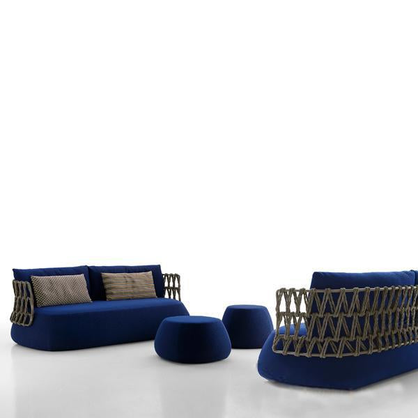 Outdoor Braided & Rope Sofa - Deneme