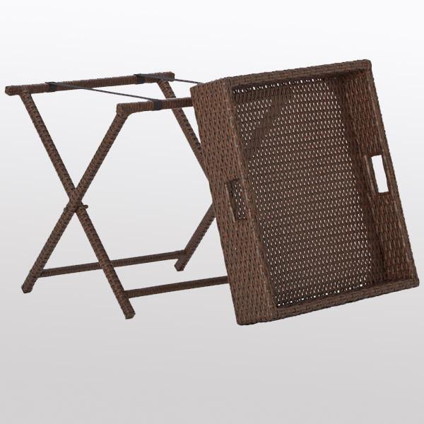 Outdoor Wicker Tray Western