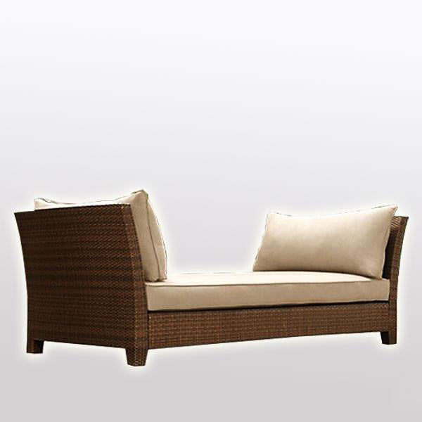 Outdoor Wicker Couch - Heritage