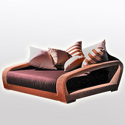Outdoor Wicker Couch - Dreams