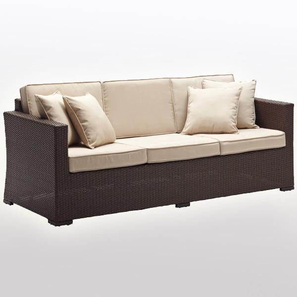 Outdoor Wicker Couch - StraightLine
