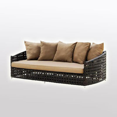 Outdoor Wicker Couch - Rustica