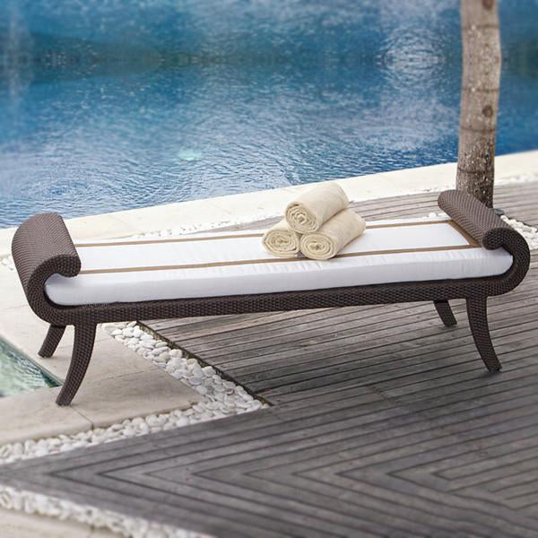 Outdoor Wicker Couch - Signature