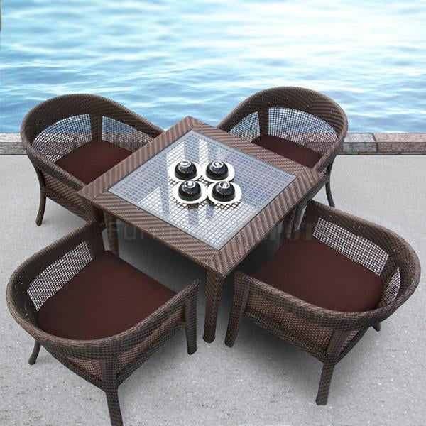 Outdoor Wicker Garden Set - Grand