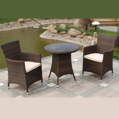 Outdoor Wicker Garden Set - Woods