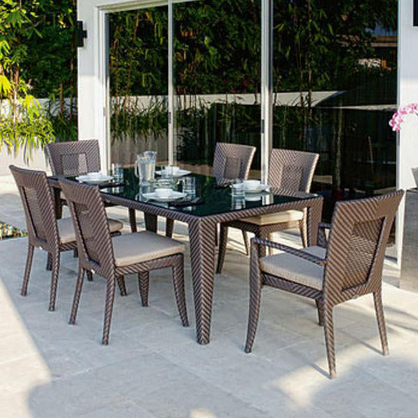 Outdoor Wicker Garden Set -Rustica