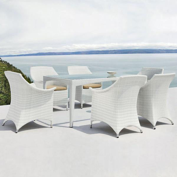 Outdoor Wicker Garden Set -Levender