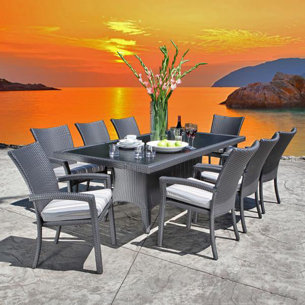 Outdoor Wicker Garden Set -Aura