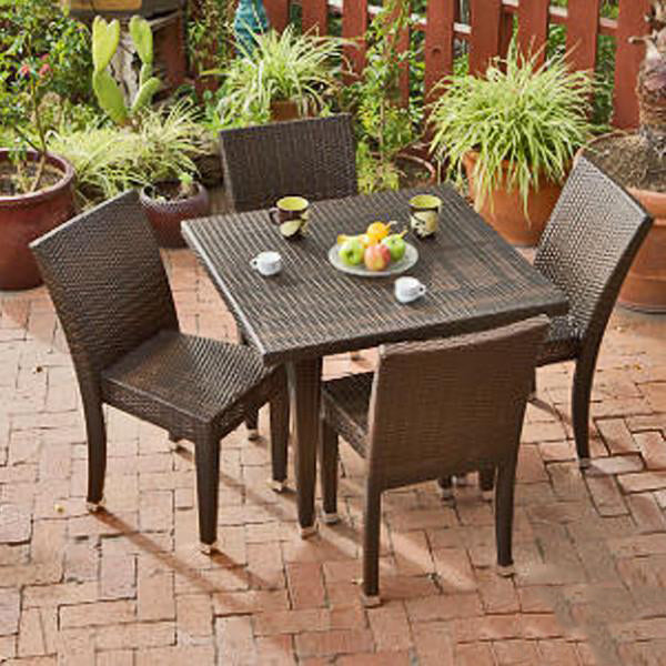 Outdoor Wicker Garden Set - Dynamic