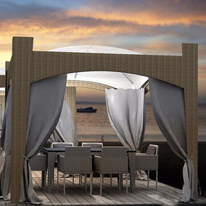 Outdoor Wicker Cabana & Gazebo - Ministry