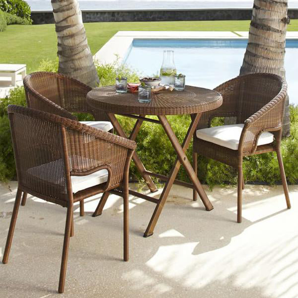 Outdoor Wicker Garden Chairs Spartan#5