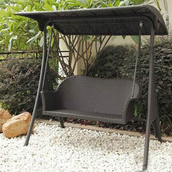 Outdoor Wicker Two Seater Swing - Moments