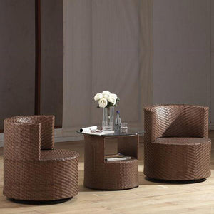 Outdoor Wicker - Stackable Set - Poise