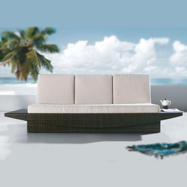 Outdoor Wicker Couch - Modern