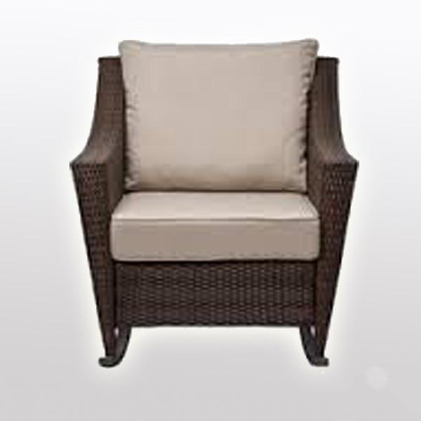 Outdoor Wicker - Rocking Chair - Modern