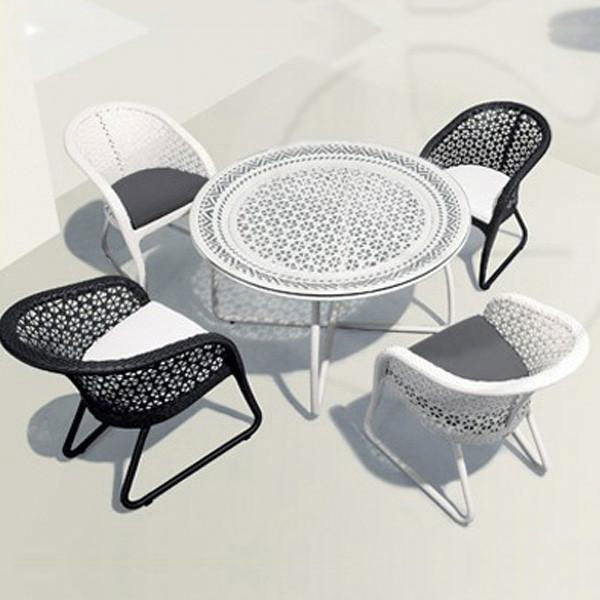 Outdoor Wicker Garden Set - Colump