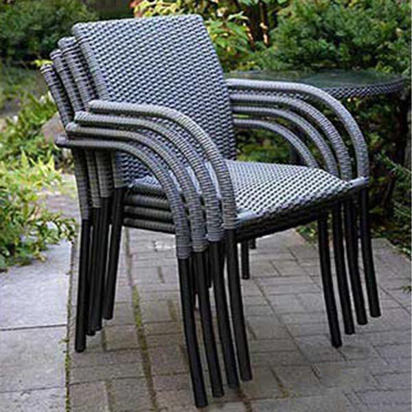 Outdoor Wicker Garden Chairs Spartan#6