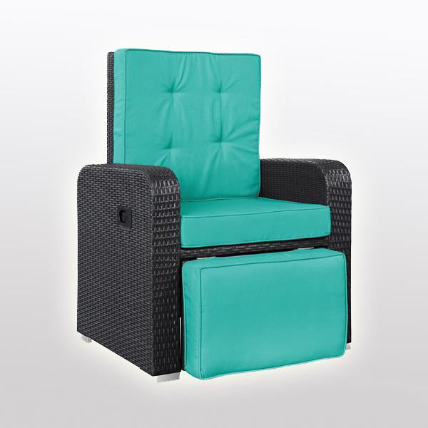 Outdoor Wicker - Recliners - Equator