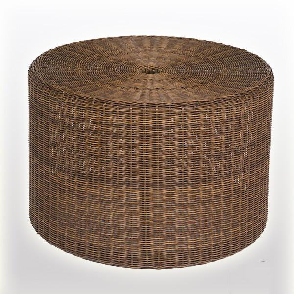 Outdoor Wicker Ottoman - Nova