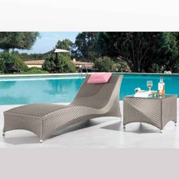 Outdoor Furniture - Sun Lounger - Lenia