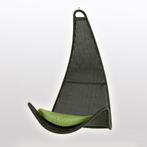 Outdoor Wicker Swing - Dolphin