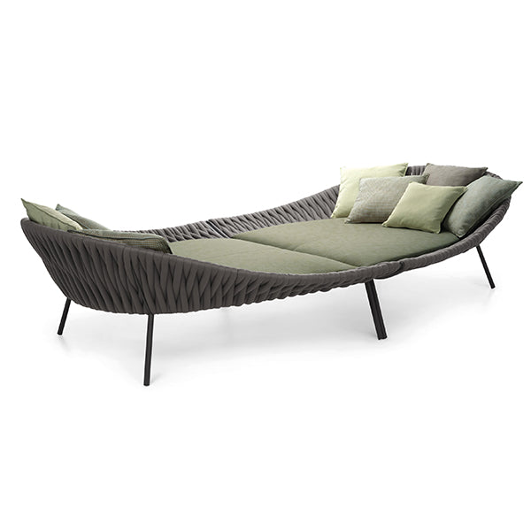 Outdoor Braided & Rope Daybed - Arena