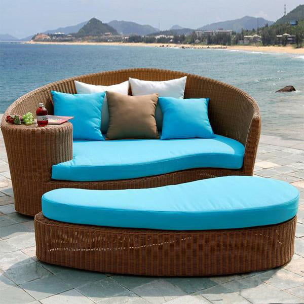 Outdoor Wicker - Day Bed - Queen