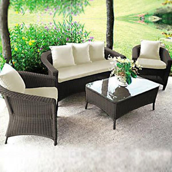 Outdoor Furniture - Wicker Sofa - Autumn