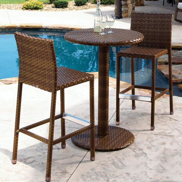 Outdoor Furniture - Wicker Bar Set - Spring