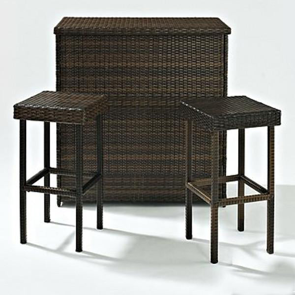 Outdoor Furniture - Wicker Bar Set - Panama