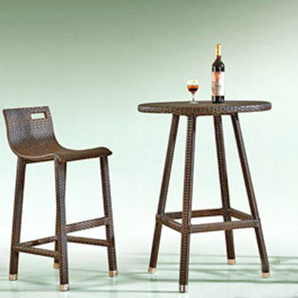 Outdoor Furniture - Wicker Bar Set - Ardennes