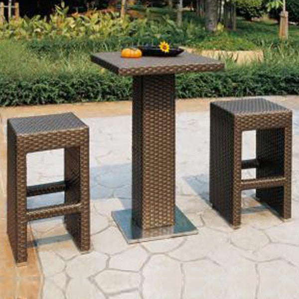 Outdoor Furniture - Wicker Bar Set - Manila